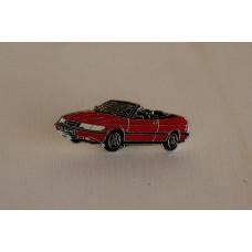Saab 900 Turbo Cabrio 1995 - red