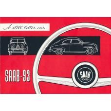1956   Saab 93 A   (English)