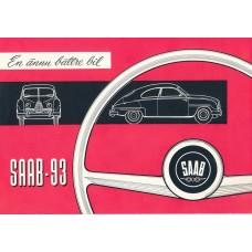 1957   Saab 93 A   (Swedish)