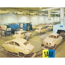 1960   Saab 93 F + Factory   (English)