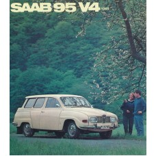 1969   Saab 95 V4   (Swedish)