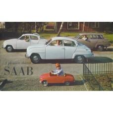 1964   Saab 95 + 96 + Sport   (English)