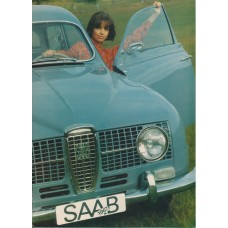 1967   Saab 95 V4 + 96 V4 + De Luxe + Shrike + Sonett II ts   (US-English)