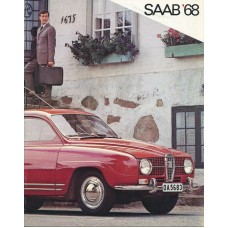1968   Saab 95 V4 + 96 V4 + De Luxe + Sonett II V4   (US-English)