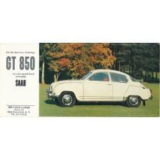 1963   Saab GT 850   (US-English)