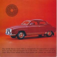 1966   Saab Monte Carlo 850   (US-English)