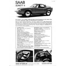 1966   Saab 97 Sonett II 2-stroke   (Swedish)