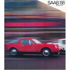 1968  Saab 97 Sonett II V4   (US-English)