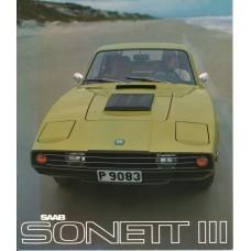 1970  Saab 97 Sonett III   (Swedish)