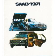 1971   Saab 95 V4 + 96 V4 + 99   (English)