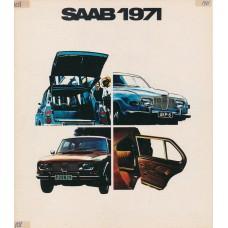 1971   Saab 95 V4 + 96 V4 + 99   (Swedish)