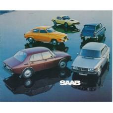 1974   Saab 95 V4 + 96 V4 + 99 L + EMS   (GB-English)