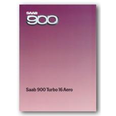 1985   Saab 900 Turbo 16 Aero   (Swedish)