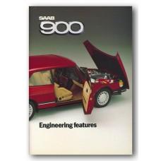 1985   Saab 900 Engineering Features Book   (US-English)