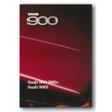 1987   Saab 900 + 900 c + 900 i  (Danish)