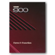 1987   Saab 900 Form & Function Book   (Int-English)