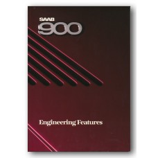 1987   Saab 900 Engineering Features Book   (US-English)