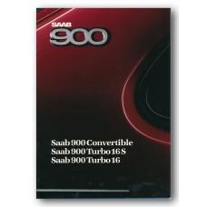 1988   Saab 900 Turbo 16 + Turbo 16 S + Convertible   (GB-English)