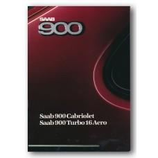 1988   Saab 900 Turbo 16 Aero + Cabriolet  (Swedish)