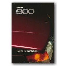 1988   Saab 900 Form & Function Book   (Swedish)
