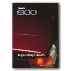 1988   Saab 900 Engineering Features Book   (US-English)