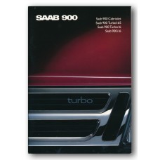 1989   Saab 900 i16 + Turbo 16 + Turbo 16 S + Cabriolet   (CH-French)
