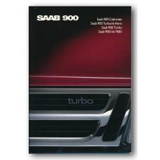 1989   Saab 900 i + i16 + Turbo + Turbo 16 Aero + Cabriolet   (Danish)
