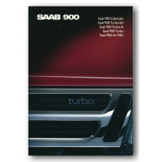 1989   Saab 900 i + i16 + Turbo + Turbo 16 + Turbo 16 S + Cabriolet   (Int-English)