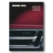 1989   Saab 900 i + i16 + Turbo 16 + Turbo 16 S + Cabriolet   (Italian)