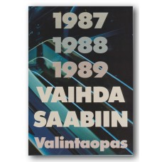 1989 1988 1987   Saab 900   (Finnish)
