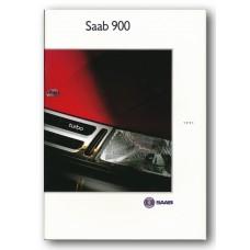 1991   Saab 900 i16 + 2.1-16 + Turbo 16 + Turbo 16 S + Cabriolet   (German)