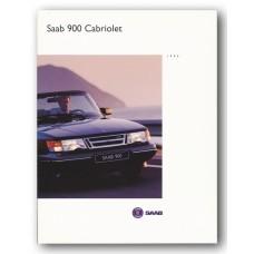 1994   Saab 900 S Cabriolet + Turbo S Cabriolet   (German)