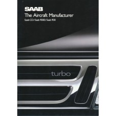 1989   Saab 900 + T 16 S + Cabrio + 9000  (GB-English)