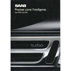 1989   Saab 900 + T 16 S + Cabrio + 9000  (Italian)
