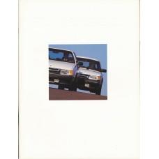 1989   Saab 900 + T 16 S SPG + Cabrio + 9000  (USA-English)