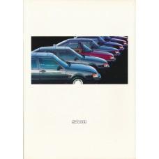 1989   Saab 900 + T 16 S + Cabrio + 9000  (German)