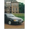 1989   Saab 900 + T 16 S + Cabrio + 9000  (IDS-English)