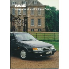 1989   Saab 900 + T 16 S + Cabrio + 9000  (IDS-English)