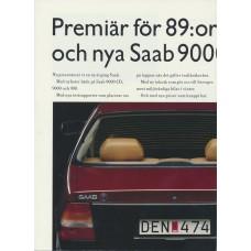 1989   Saab 900 + T 16 S + Cabrio + 9000  (Swedish)