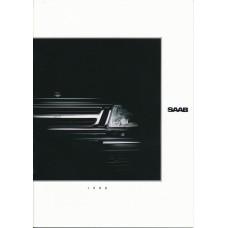 1990   Saab 900 + T 16 S + Cabrio + 9000  (Danish)
