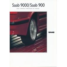 1990   Saab Styling Accessories - 900 + T 16 S + Cabrio + 9000  (German)
