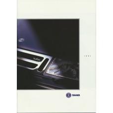 1991   Saab 900 + T 16 S Aero + Cabrio + 9000 incl. Carlsson  (GB-English)