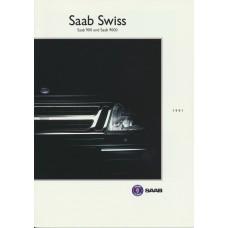 1991   Saab Swiss 900 + 9000  (CH-German)