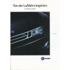 1992   Saab 900 + T 16 S + Cabrio + 9000  (German)