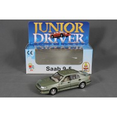 Saab 9-5 Aero Sedan 1998 - silver green metallic