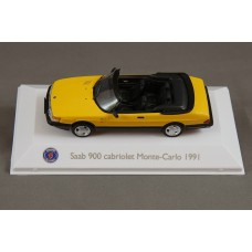 Saab 900 Turbo Monte Carlo Cabrio 1991 - yellow