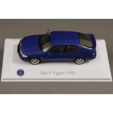 Saab 9-3 Viggen 3-door 1999 - lightning blue metallic