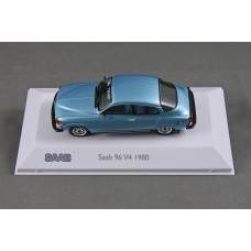 Saab 96 GL 1980 No.730607 - aquamarine blue metallic