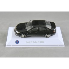 Saab 9-3 Turbo X Sedan 2008 - jet black metallic