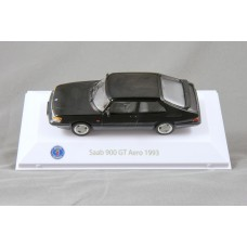 Saab 900 Turbo 16 GT Aero 1993 - black